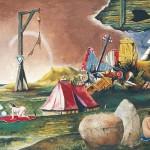 Franz Radziwill: Die Halbinsel der Seligen des 20. Jahrhunderts, Ölgemälde 1971