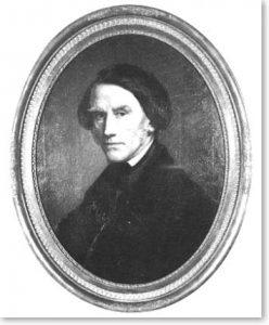 Portrait des Melchior Hemken (1805 - 1871), Öl auf Leinwand, 1863