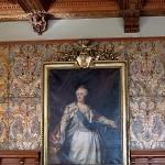 66 Geschenk der Zarin: Staatsporträt Katharinas II. von Russland im Schlossmuseum zu Jever