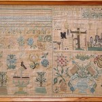 65 Ein Stickmustertuch von 1680