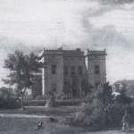22 Das Jaspersche Haus am Schlosserplatz in Jever. Gemälde von Caspar Sonnekes (1821 - 1899)