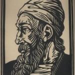"""58 Josef Weisz (1894-1969): """"Johannes Gutenberg"""""""