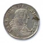 54 Zwei Münzen Carl Wilhelms von Anhalt-Zerbst
