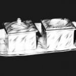 14 Kleinod der Schriftkultur: Schreibgarnitur aus dem späten Biedermeier
