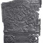 49 Gusseiserne Ofenplatte von 1634