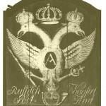 "09 Posthausschild des ""Russisch Kayserl. Post-Amtes"" in Jever"