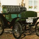 "52 Benz-Patent-Motor-Wagen Veloziped genannt ""Velo"""