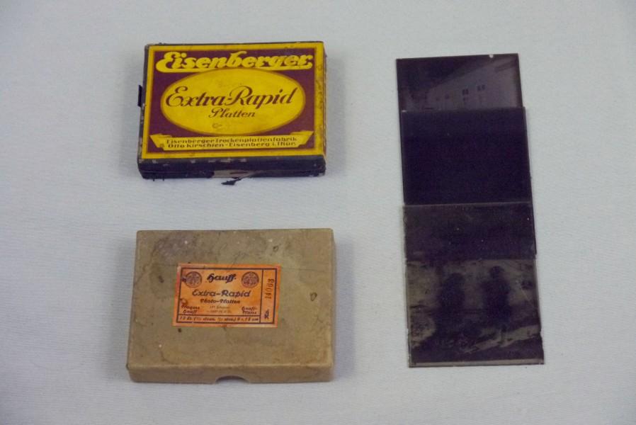 Fotoplatten, ca. 1930