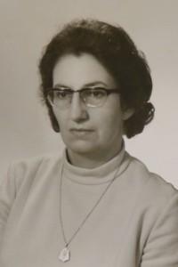 Portrait von Elisabeth Meyer ca. 1960- 1970