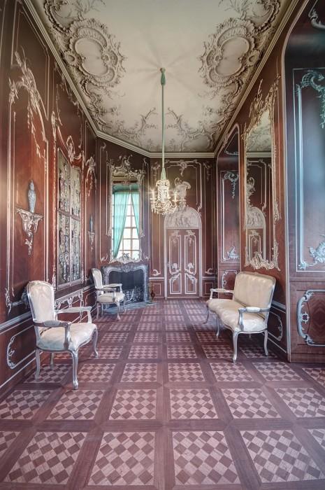 Zedernkabinett Schloss Zerbst
