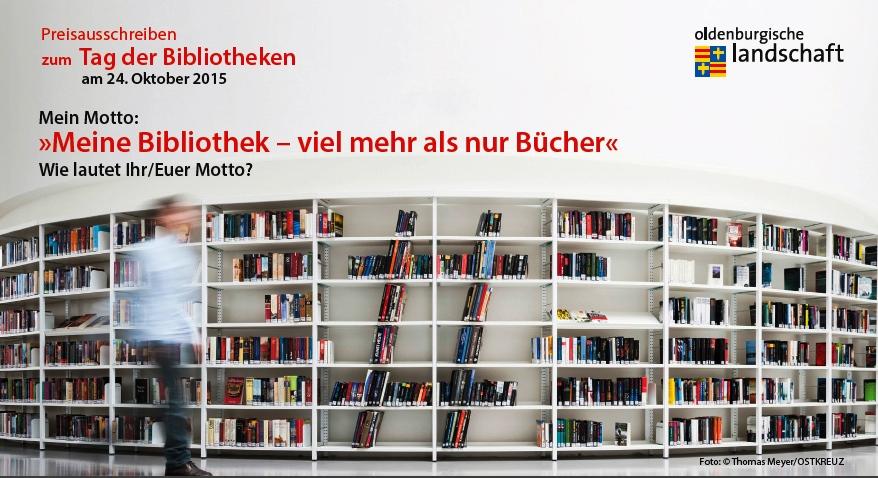 Teilnahmekarte Preisausschreiben Tag der Bibliotheken