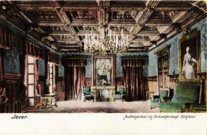 Postkarte Audienzsaal, 1910