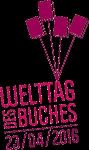 Welttag des Buches, Logo, Copyright: Börsenverein des Deutschen Buchhandels