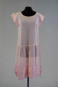 Sommerkleid. Nach 1925. Baumwolle.