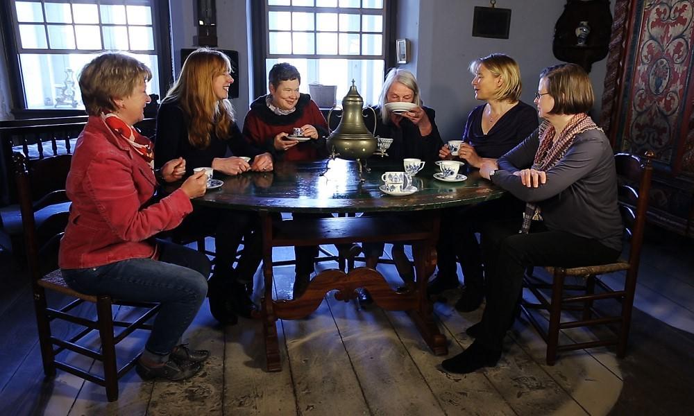 Standbild aus der Tabletführung 'Fremd in Friesland'