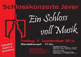 Schaukasten -Wandelkonzert - Ein Schloss voll Musik