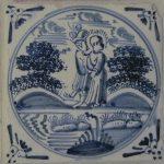Wandfliesen mit biblischen Motiven