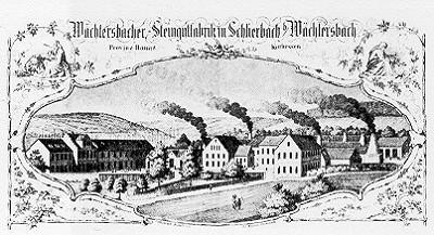 Die Wächtersbacher Steingutfabrik
