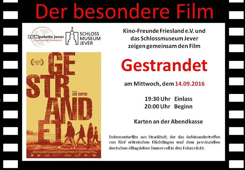 Gestrandet, Dokumentarfilm aus Strackholt