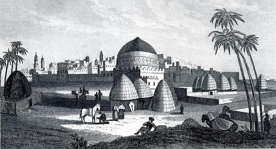 Moccah, die letzte Station Seetzens. In: C. Strahlheim: Die Wundermappe. Asien. 1837