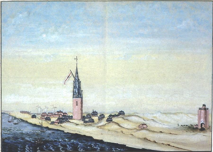 Wangerooge, kol. Zeichnung, um 1820