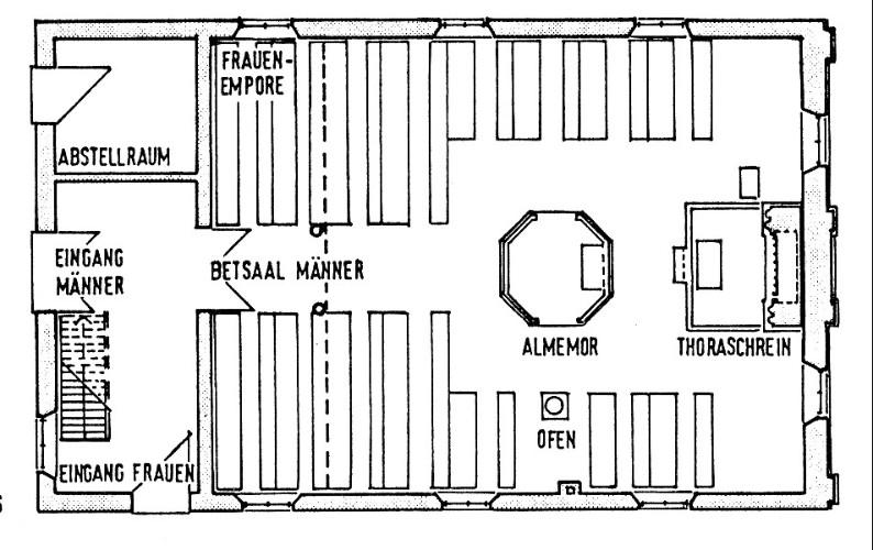 synagoge von neustadtg dens schlossmuseum jever. Black Bedroom Furniture Sets. Home Design Ideas