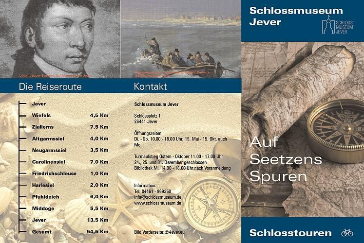 Auf Seetzens Spuren - Die Radtour - Informationsflyer