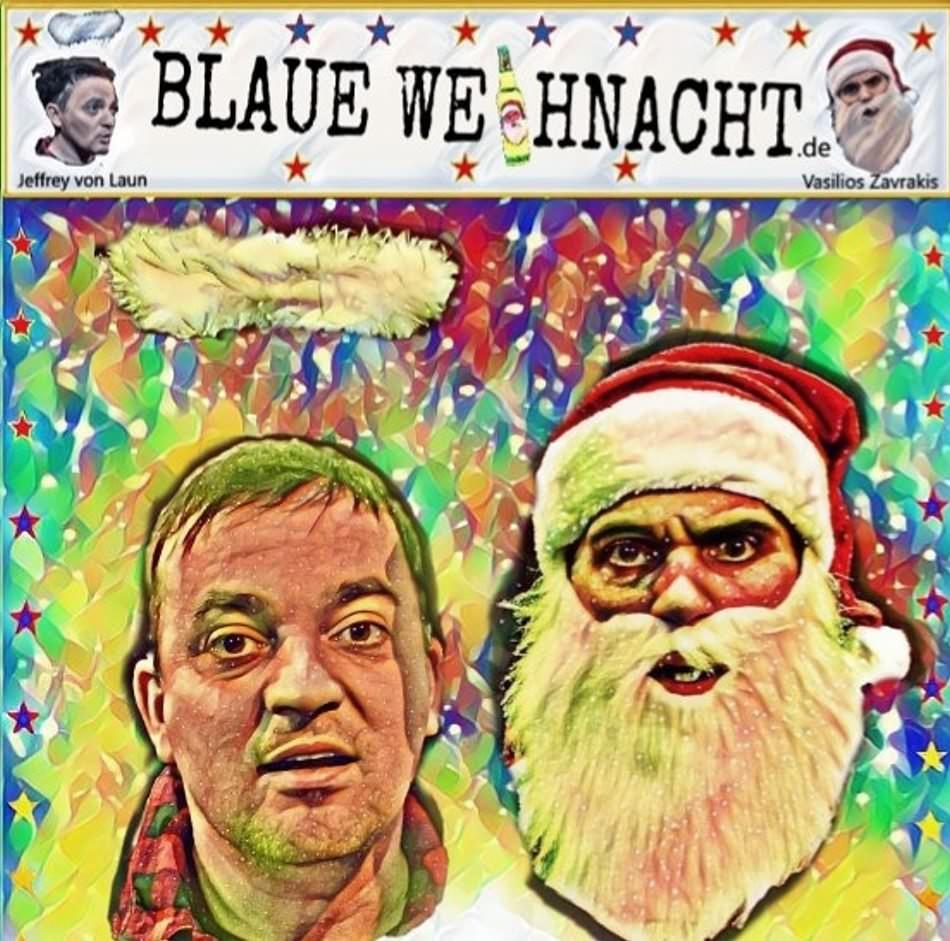 Blaue Weihnacht