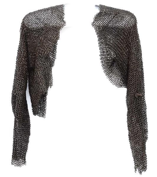Kettenhemd, geschmiedetes Eisen, 15. Jahrhundert