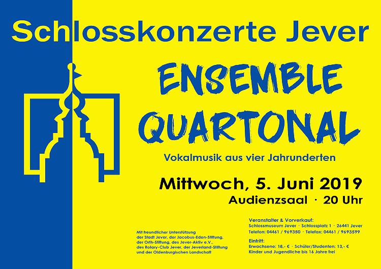 Schlosskonzert 2019: Ensemble Quartonal