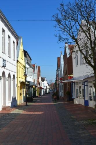 Leere Straßen und Plätze in Jever