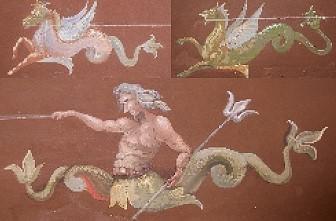 WAS FEHLT DEN WILDEN WESEN? Wandmalerei in der fürstlichen Galerie