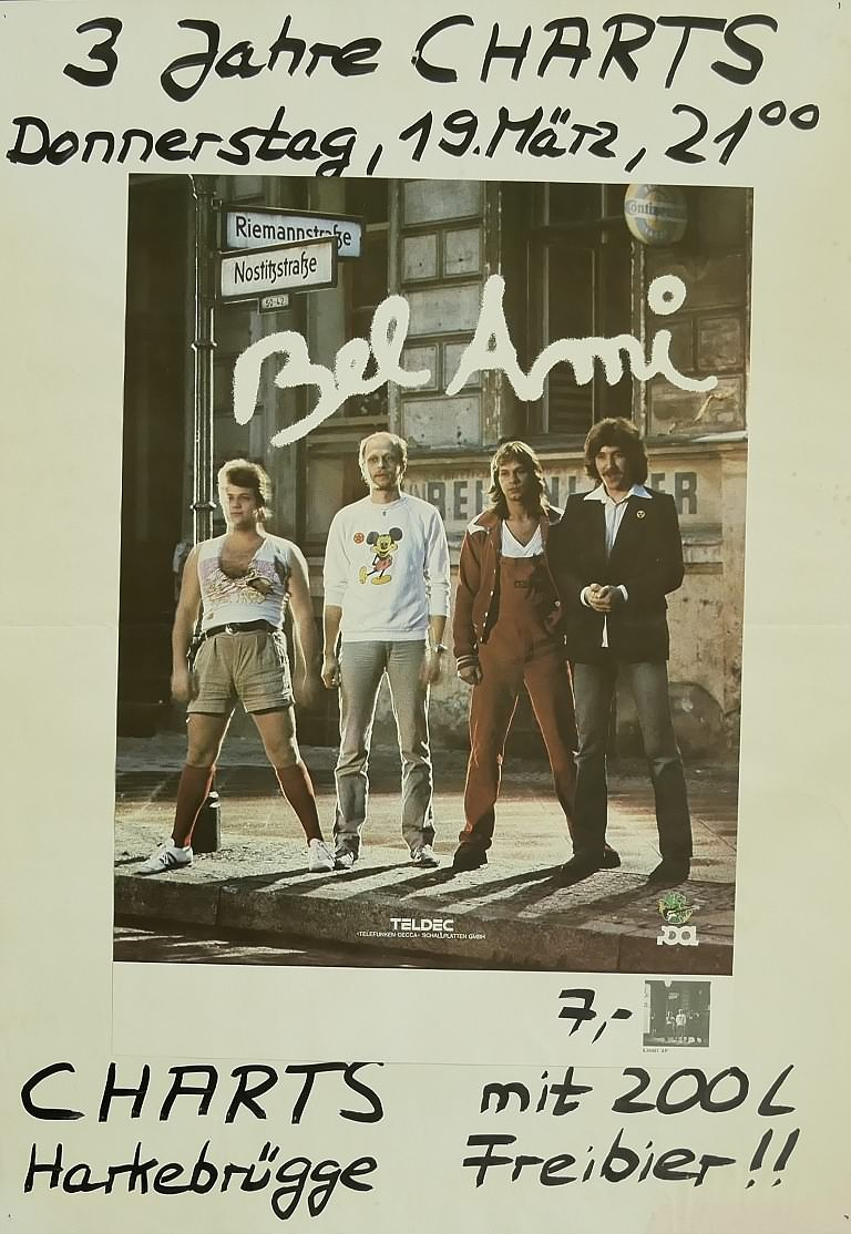 Bel Ami, 19.März 1981, Charts, Harkebrügge
