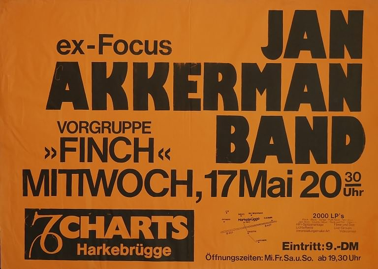 Jan Akkerman Band & Finch, 17. Mai 1978