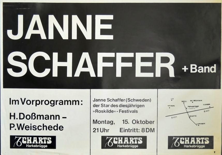 Janne Schaffer Band, 15. Oktober 1979