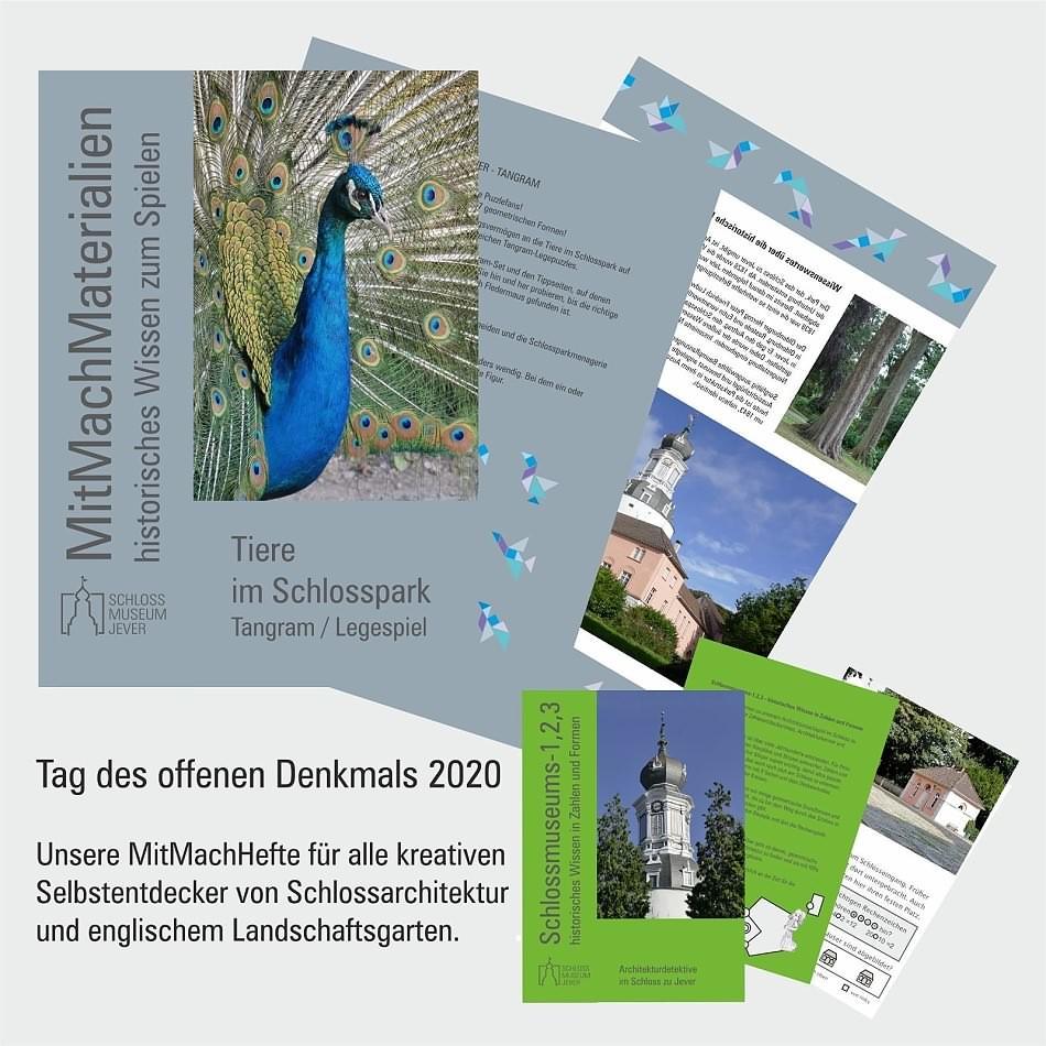 Mitmachmaterialien zum Tag des offenen Denkmals 2020