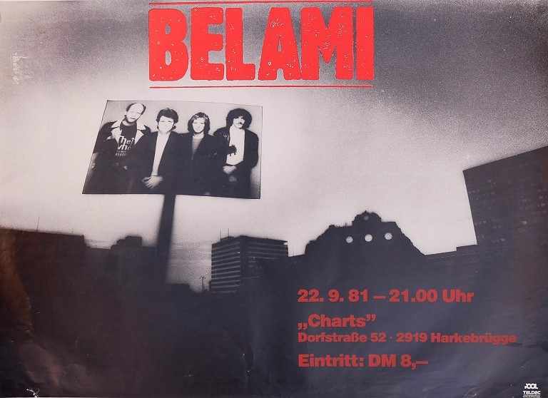 Bel Ami, 22. September 1981, Charts, Harkebrügge