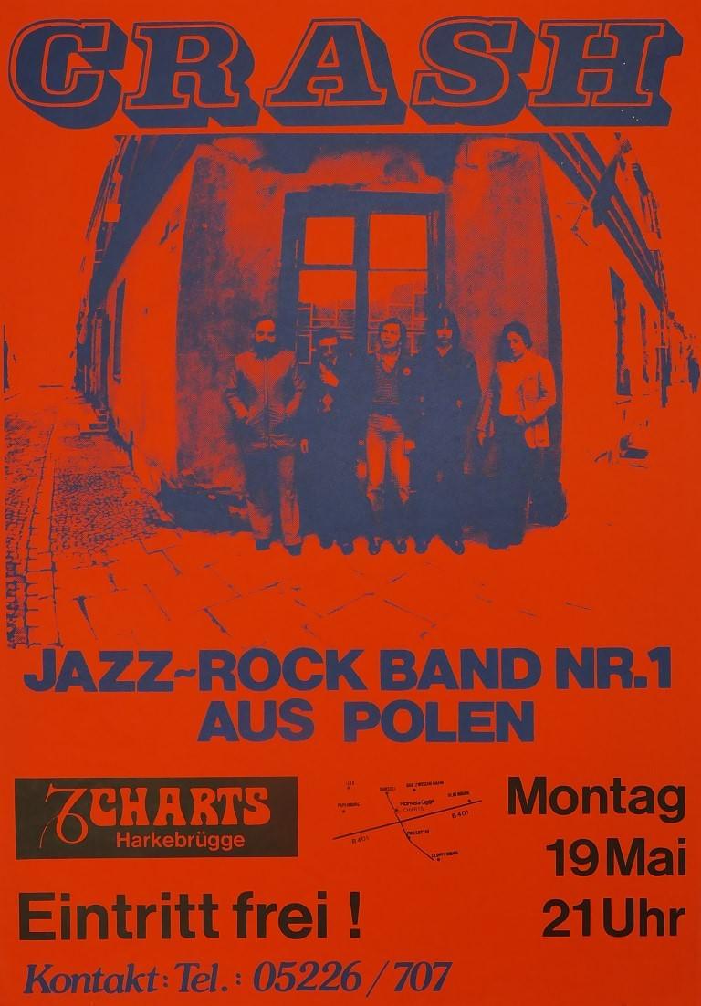 CRASH, 19. Mai 1980, Charts, Harkebrügge