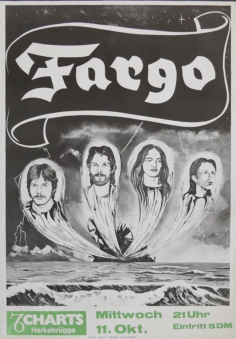 Fargo, 11.Oktober 1978, Charts, Harkebrügge