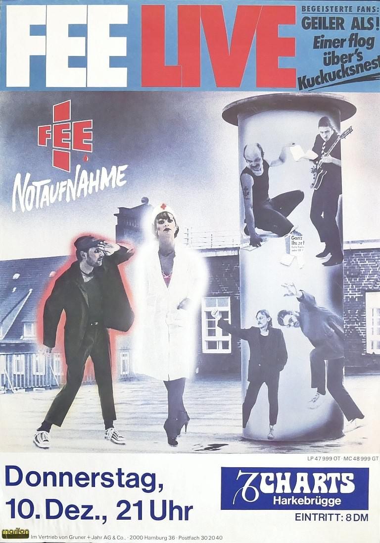 Fee, 10. Dezember 1981, Charts, Harkebrügge