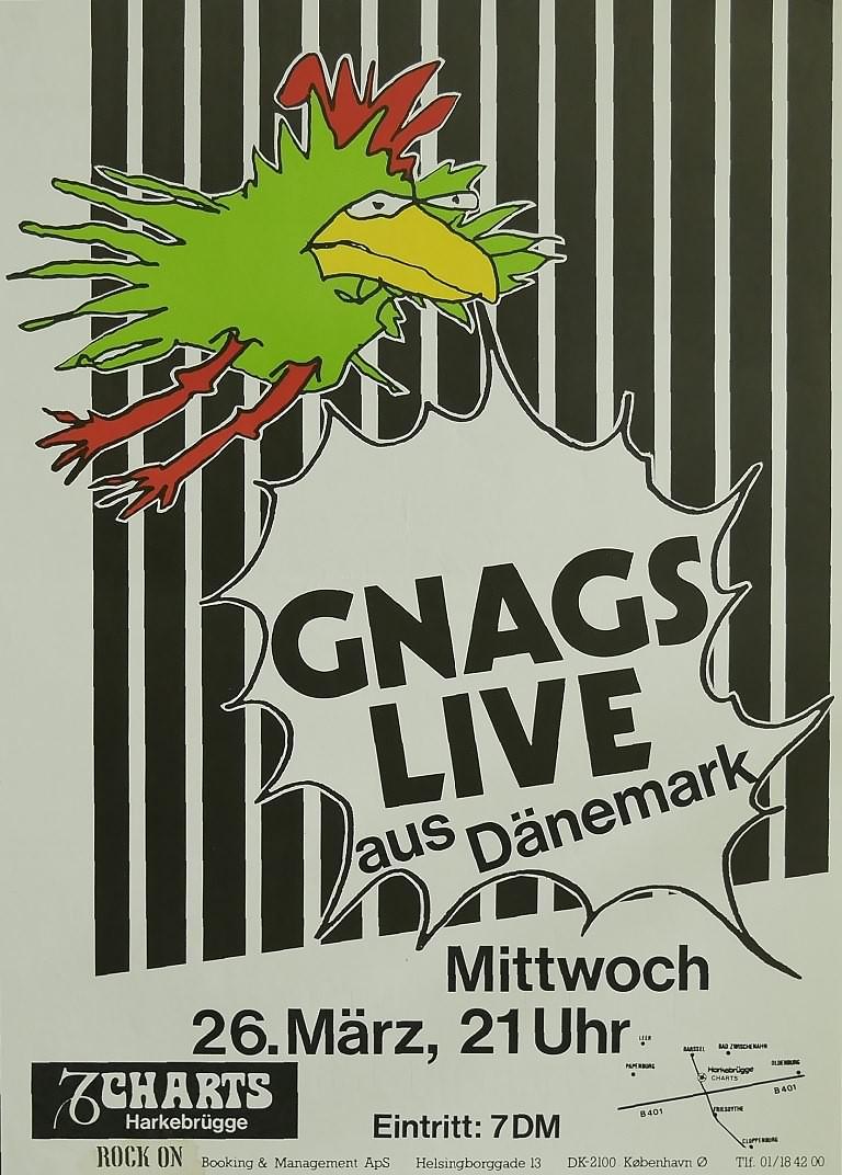 Gnags, 26. März 1980, Charts, Harkebrügge