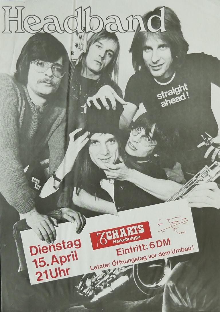Headband, 15. April 1980, Charts, Harkebrügge