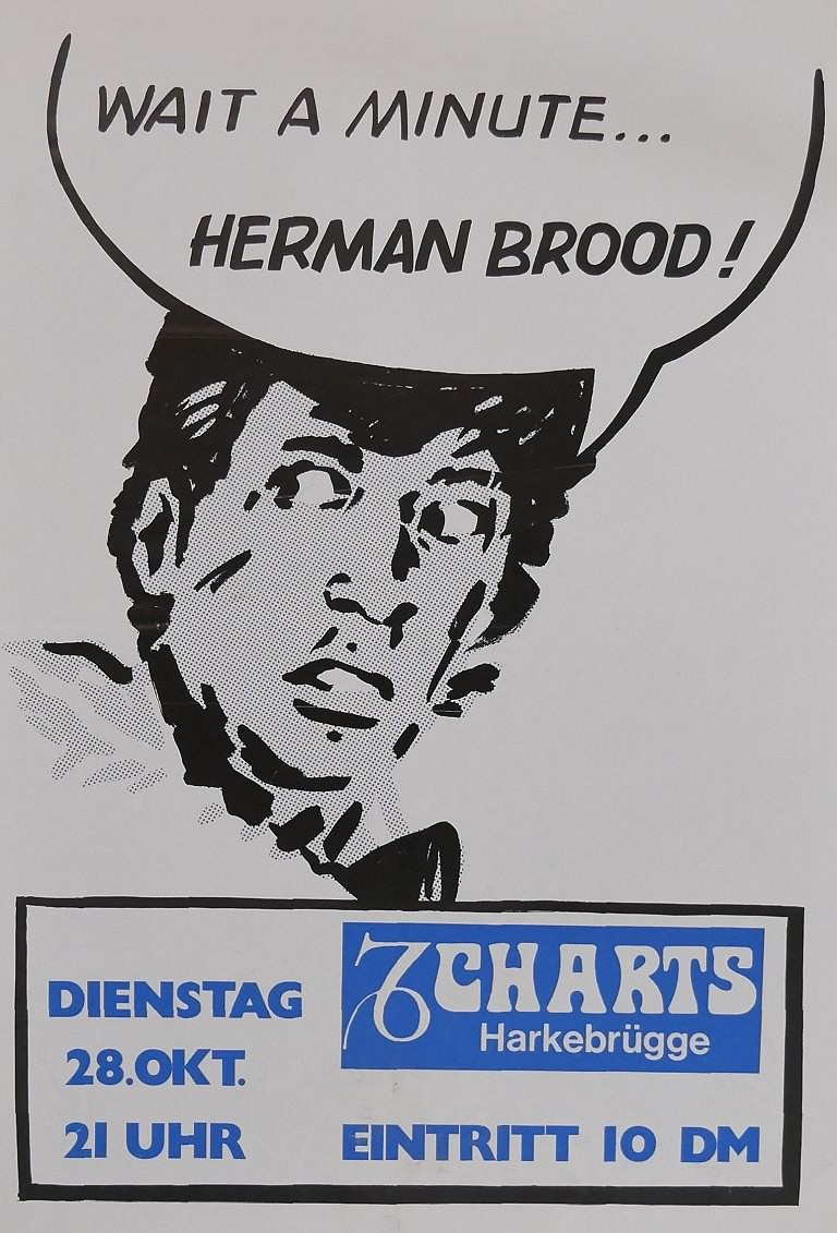Herman Brood, 15. November 1995, Charts, Harkebrügge