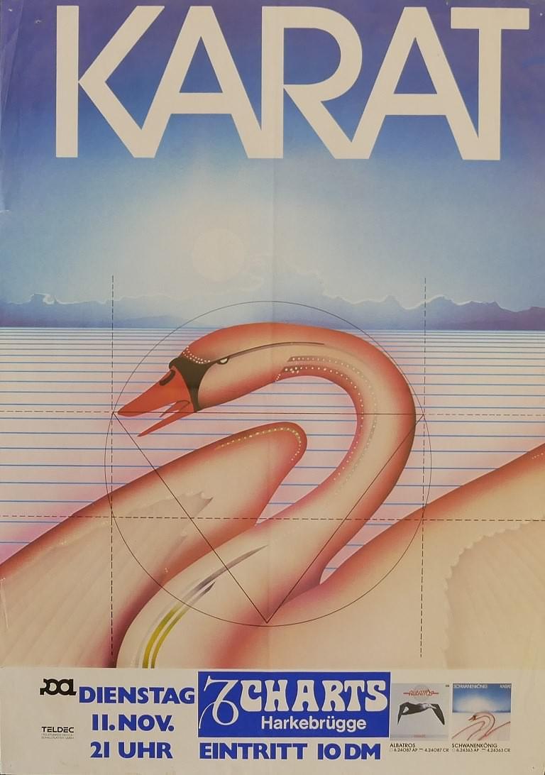 Karat, 11. November 1980, Charts, Harkebrügge