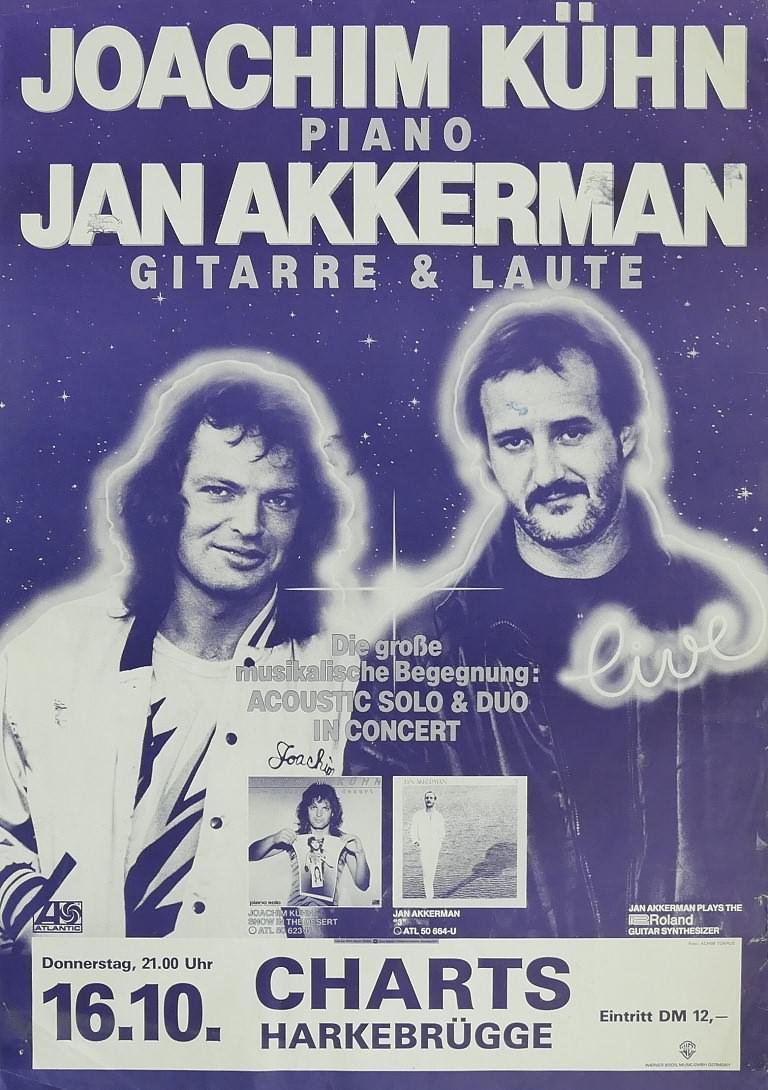 Joachim Kühn & Jan Akkerman, 16. Oktober 1980