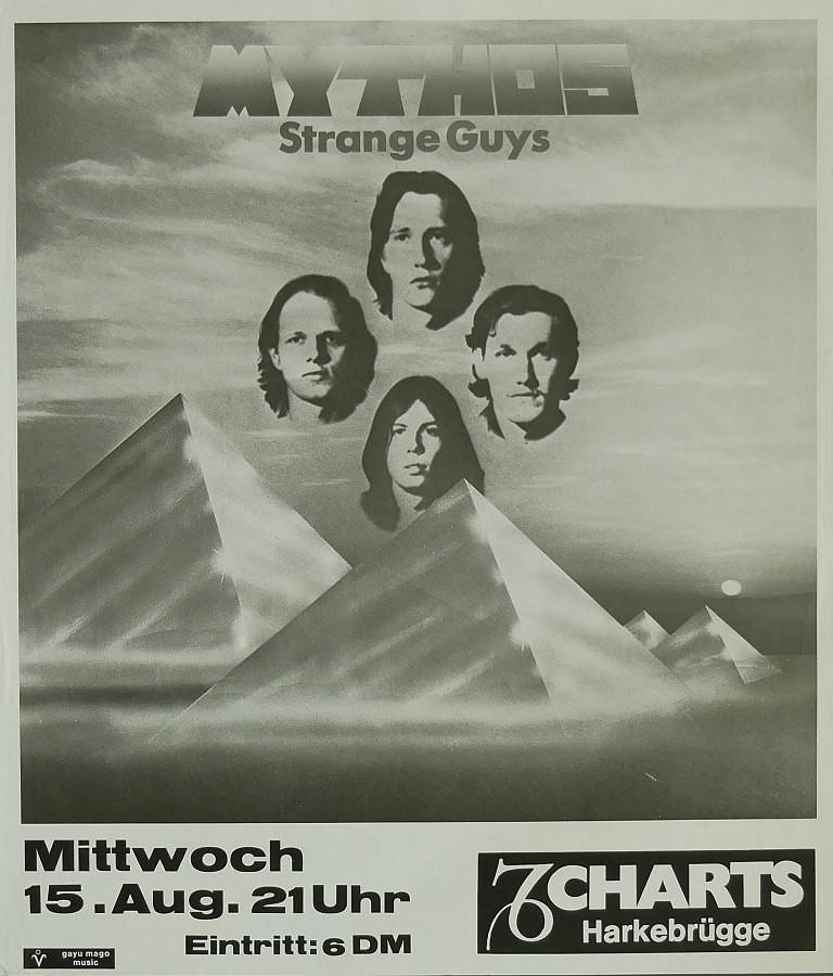 Mythos, 15. August 1979, Charts, Harkebrügge