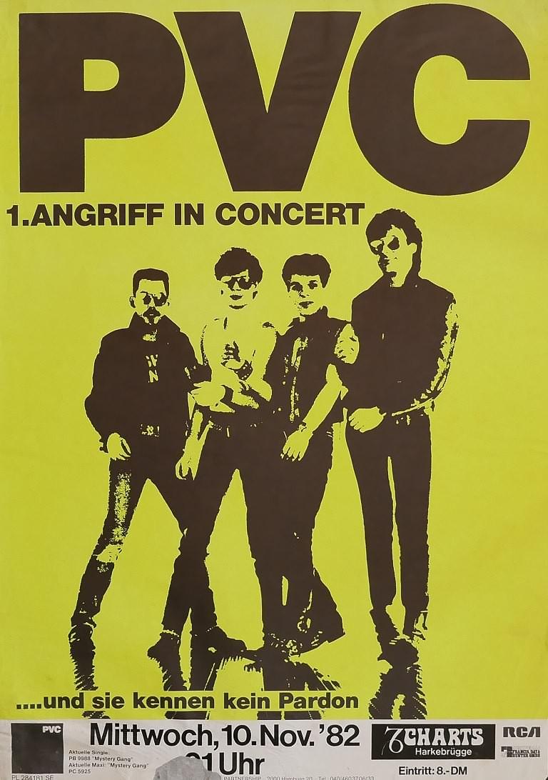 PVC, 10. November 1982, Charts, Harkebrügge