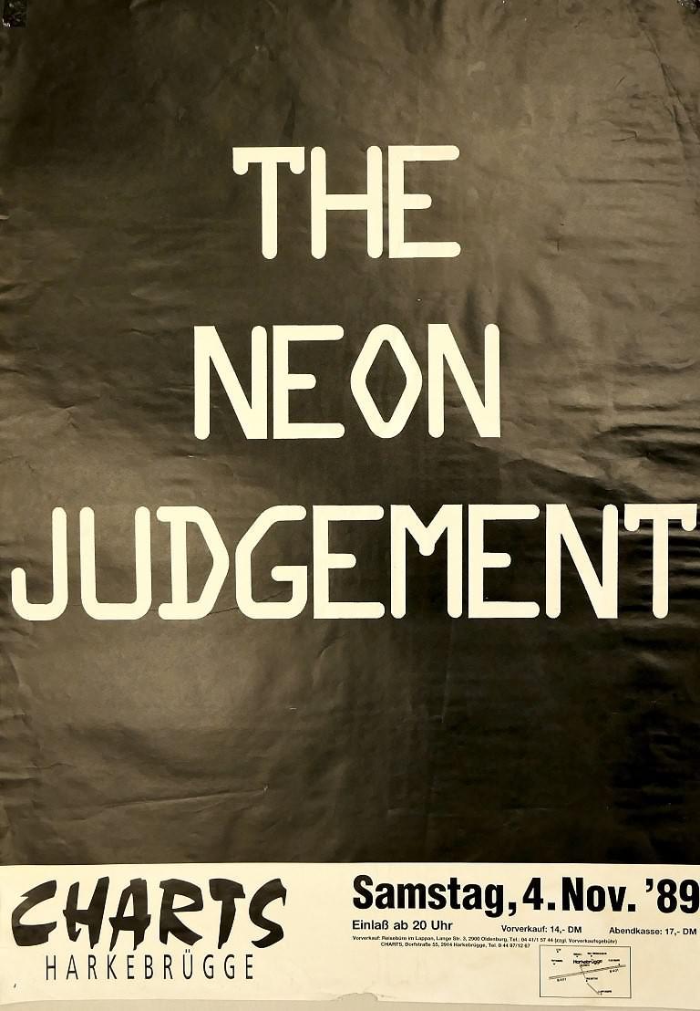 The Neon Judgement, 04. November 1989, Charts, Harkebrügge