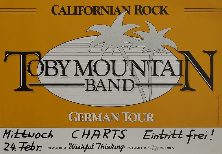Toby Mountain Band, 24. Februar 1982, Charts, Harkebrügge