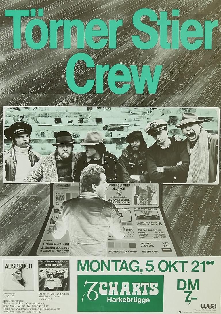 Törner Stier Crew, 05. Oktober 1981, Charts, Harkebrügge